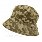Reversible Outdoor Camo Bucket Hat (Brown Digit / Khaki) #51655