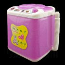Purple Washer Washing Machine 1:6 Blythe Barbie Doll's House Dollhouse Furniture #12369