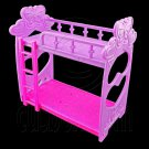 Plastic Bunk Bed w Ladder New 1:6 Blythe Barbie Doll's House Dollhouse Miniature #12399