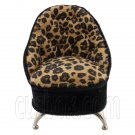 Cheetah Sofa Chair Jewelry Rings Box 1/6 Barbie Doll's House Dollhouse Furniture #12456