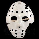 White Plastic Hockey 3D Party Halloween Fancy Dress Scary Costume Full Face Mask #12560
