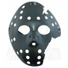 Black Plastic Hockey 3D Party Halloween Fancy Dress Scary Costume Full Face Mask #12561