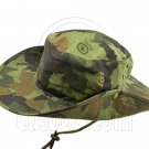 Green Forrest with Pattern Camping Hiking Boonie Hat #51709