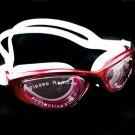 Anti Fog UV Mirror Reflective Protect Silicone Swimming Goggles 2120 RED #51718