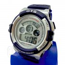Digital Sports Men's Watch (833) (BLUE w/ silver display) #51750