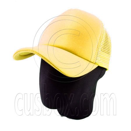 Plain Mesh Ball Cap (YELLOW) #50560