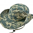 Light Green Digit Camo Camping Hiking Boonie Hat #51753