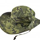 Full Green Digit Camo Camping Hiking Boonie Hat #51754