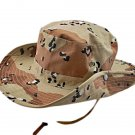 Brown Desert Camo with Dot Camping Hiking Boonie Hat #51758