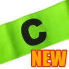 Football Games Gear Adjustable Captain Armband (YELLOW) Round C #51520
