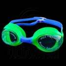 Swimming Kids Goggles with Box GREEN BLUE #51782