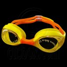 Swimming Kids Goggles with Box YELLOW ORANGE #51783