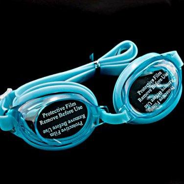 Swimming Kids Goggles with Bag AQUA BLUE #50356