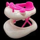 White Plastic Walker 1/6 for Kelly of Barbie Doll's House Dollhouse Miniature #12705
