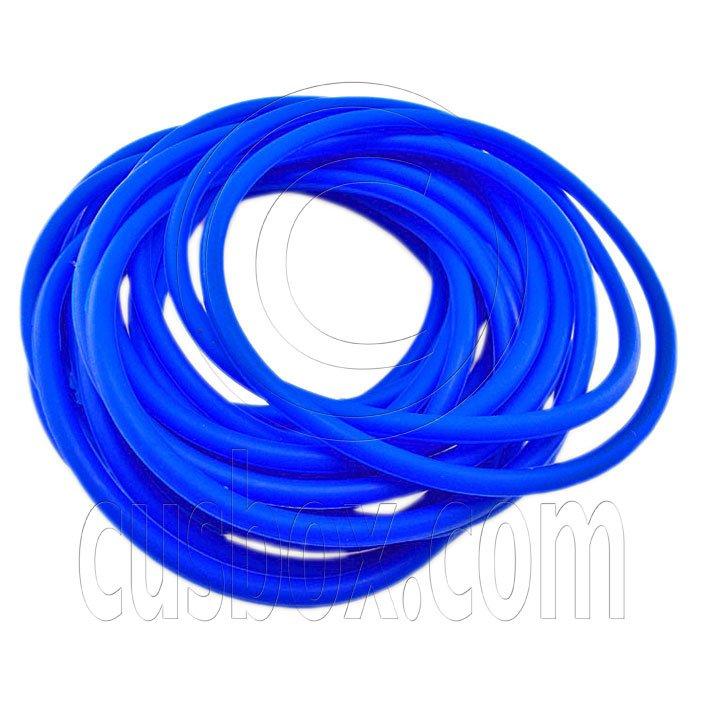 5 pcs Colorful Silicone Elastic Bracelet (Royal Blue) #51866