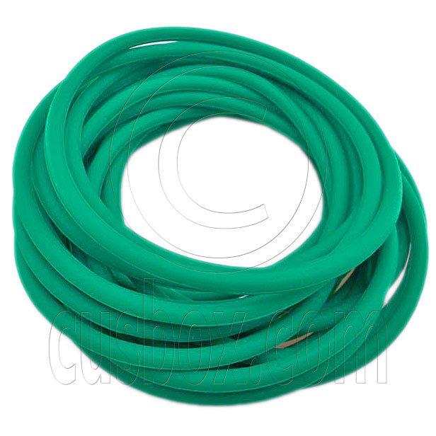 5 pcs Colorful Silicone Elastic Bracelet (Dark Green) #51870