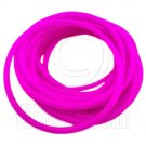 5 pcs Colorful Silicone Elastic Bracelet (Purple Pink) #51875