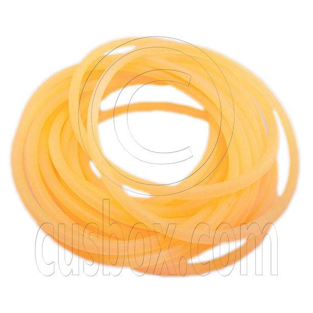 5 pcs Colorful Silicone Elastic Bracelet (Fluorescent Orange) #51883