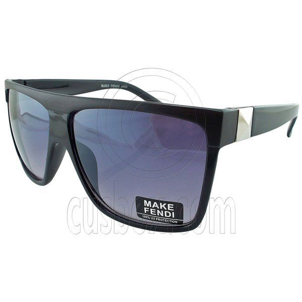 Black Lens Vintage Madness Wayfarer Sunglasses Men's Women's Fashion Retro UV400 #12971