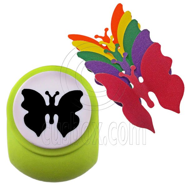 Butterfly Paper Edge Scrap Craft Punch Scrapbooking Die Cut Cupcake Toppers 3.5cm #12816