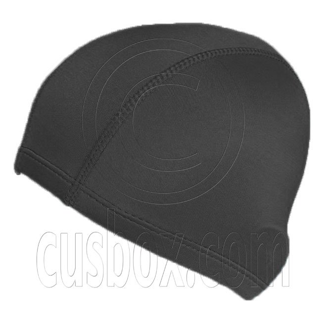 Light Elastane Swimming Cap (BLACK) #51890