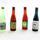 Lot/Set 6 Wine Beer Drinks Bottle Dollhouse Miniature #10281