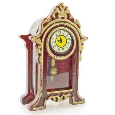 Antique Gorgeous Gong Strike Clock Dollhouse Miniature #10428