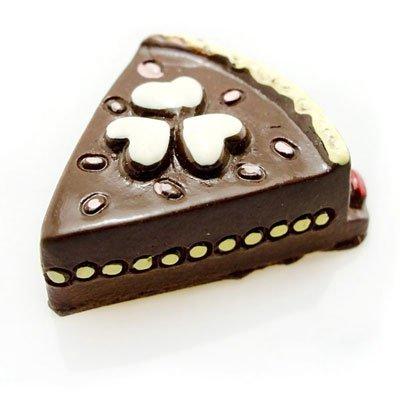 Porcelain Chocolate Cream Cake Doll Dollhouse Miniature #10894