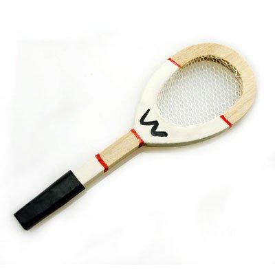 Tennis Racket Badminton Squash Game Dollhouse Miniature #10996