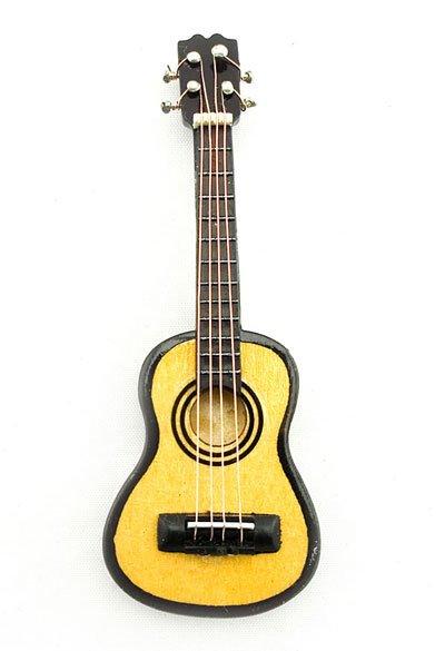 Acoustic Classical Guitar Musical Dollhouse Miniature #11182