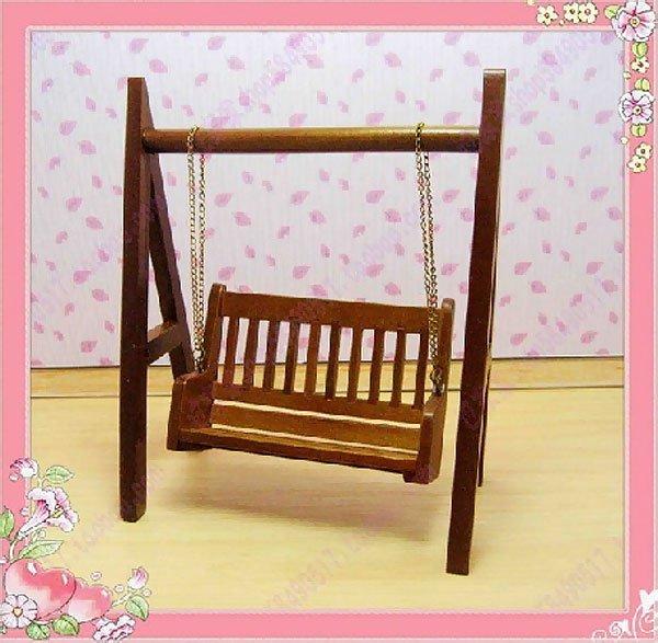 Garden 2 Seater Rocking Swing Chair Dollhouse Furniture #11208