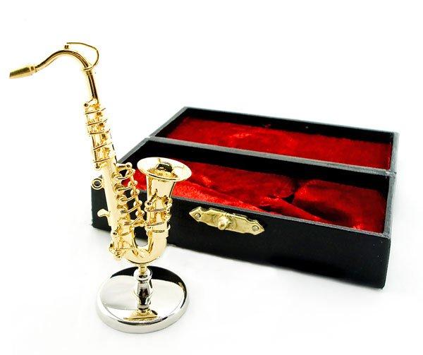Woodwind Saxophone Sax Band Musical Dollhouse Miniature #11552