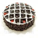 Chocolate Birthday Cake 1:12 Doll's Dollhouse Miniature #11662
