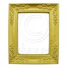 Rectangular Gold Canvas Frame 1:12 Dollhouse Miniature #11805