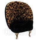 Cheetah Jaguar Single Arm Chair 1:6 for Barbie Doll's House Dollhouse Furniture #12123