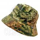 Reversible Outdoor Bucket Hat (Leaf and Branch Pattern Camo / Khaki) #51914