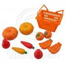 Set/Lot Supermarket Basket Fruits 1:6 Scale for Barbie Monster High Doll Dolls #12985