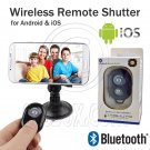 Wireless Bluetooth Camera Remote Control Selfie Self Shutter For iPhone Samsung #13058