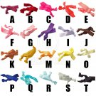 2x Colorful Elastic Flexible Scrunchie Hair Strap scrunchy Bracelet Pretty NEW #51922