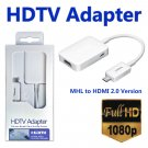 MHL 2.0 Micro USB to HDMI 1080P HDTV Cable Adapter for Samsung Galaxy S5 S4 S3 #13045