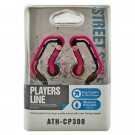 Pink 3.5mm Swing Ear Hanger Oval Rubber Ring Clip Sports Earhook Headphones MIB #12132