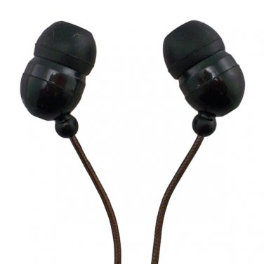 Black In-Ear 3.5mm 3.5 mm 2M Meter Long Cable Wire Headphones for Apple iPod MP3 #12623