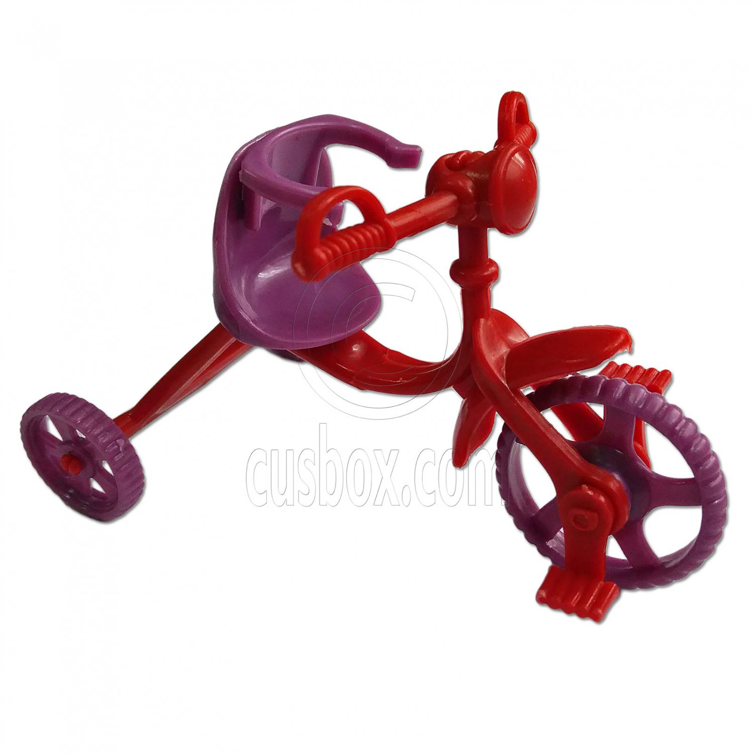 Tricycle Trike Bike 1:6 Scale for Barbie's Kelly Daughter Doll's House Miniature #13138