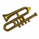 Gold Musical Instrument Trombone 1:6 Barbie Monster High Doll's House Miniature #13141
