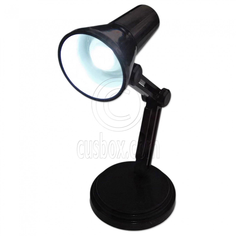 Black Flexible Working LED Table Lamp Light 1:6 Scale Barbie Monster High Doll's #13153