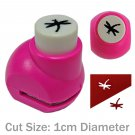 Dragonfly Nature Paper Edge Craft Scrapbook Punch Stamp Die Cut Cutter 1cm #13310