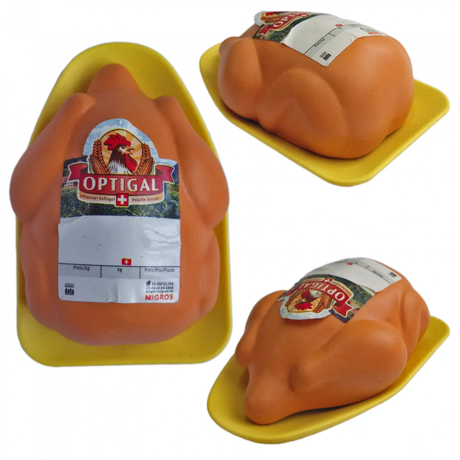 Roasted Turkey Chicken Thanksgiving Food 1/12 Doll's House Dollhouse Miniature #13303