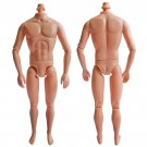"Naked Nude Raw Body Custom Muscular Men Male 1/6 Scale Action Figure 12"""" Dolls #13306"