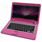 Pink Metal Laptop MacBook 16:10 1/12 Scale Doll's House Dollhouse Miniature #13314