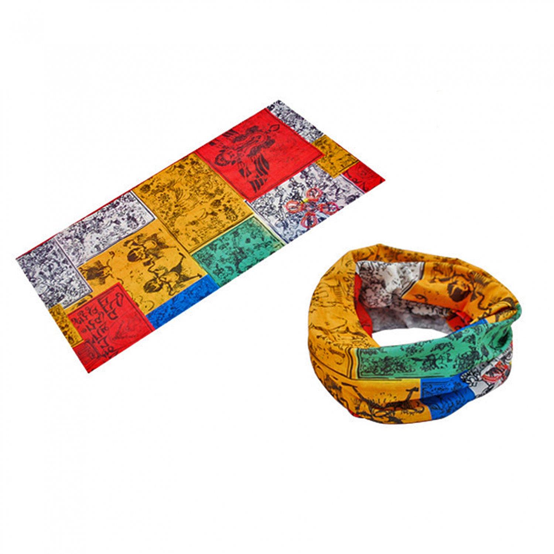 Tibet Lungta Multi-Color N2 Adult Women's Men's Cycling Hiking Scarf Bandana Bandanna Gear #13294